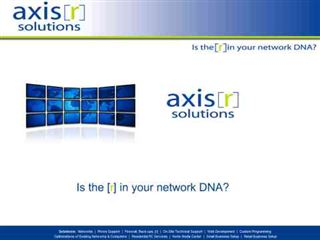 Axis R Network Solutions